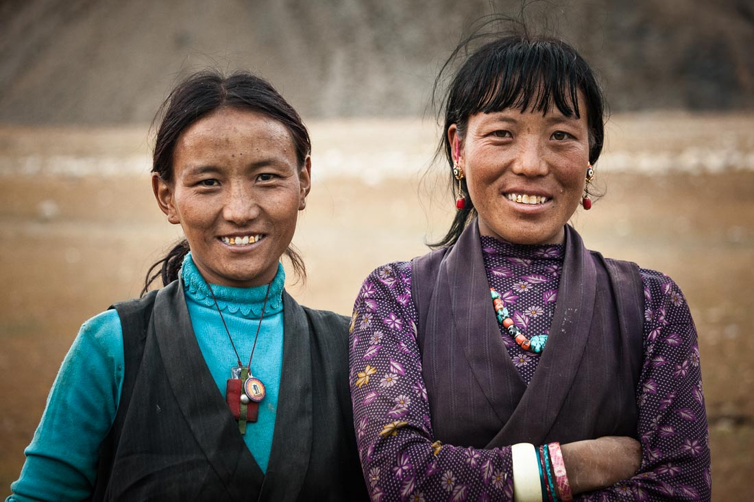 Friends in Tingue, Upper Dolpo, Nepal.